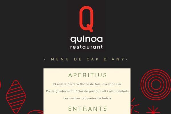 Sopar de Cap d'Any al Quinoa
